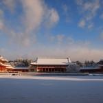 早朝の平安神宮