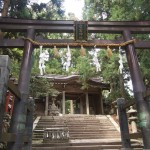 1830年 京都大地震 愛宕神社も建物が谷へ倒壊した