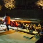 十石船 夜桜運行