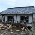 津波で流された家屋