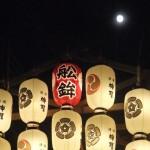 祇園祭 船鉾と月