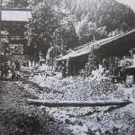 昭和10年 鞍馬の土石流