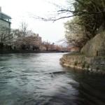琵琶湖疏水を進む