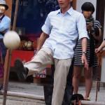 白峯神宮 蹴鞠体験