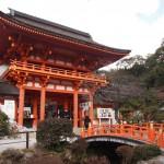 上賀茂神社 楼門と玉橋
