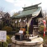 2013年の恵方(南南東)に向いた恵方社