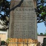 妙蓮寺 室戸台風の慰霊碑
