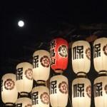 祇園祭 保昌山と満月