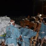 県祭り 梵天渡御 横ぶり