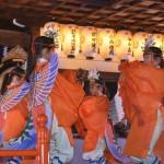 藤森神社 舞楽 迦陵頻