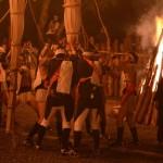 鞍馬の火祭 御旅所