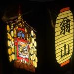 亀岡祭 灯籠