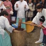 亥子祭 餅つき