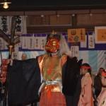 吉田神社の節分祭 方相氏