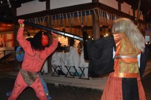 吉田神社 節分祭 追儺式