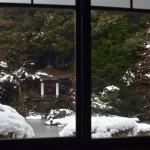 毘沙門堂の雪景色