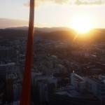 京都タワー 初日の出