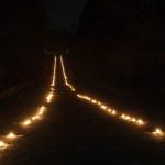 二尊院 除夜の鐘 参道