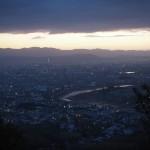小倉山からの眺め