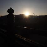 三条大橋 初日の出