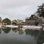 平等院の雪景色