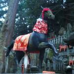 伏見稲荷大社 御膳谷奉拝所の馬