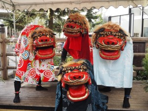 新京極 獅子舞
