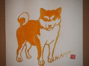 霊源院にて 木村英輝さんの絵