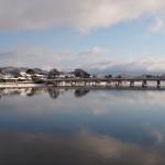 渡月橋と大堰川