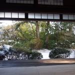 滝口寺の雪景色