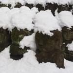 愛宕念仏寺の雪景色