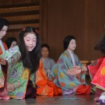 八坂神社 かるた始め式 1月
