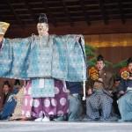 八坂神社 初能奉納 1月