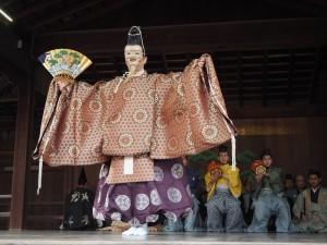八坂神社 初能奉納