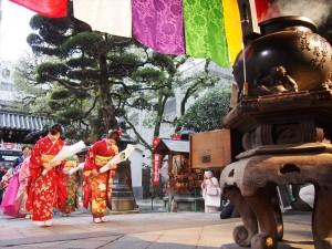 初生け式 六角堂への参拝