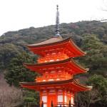 清水寺 泰産寺 子安の塔 1月