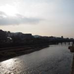 鴨川 御池大橋から