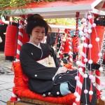 恵美寿神社 宝恵かご 1月