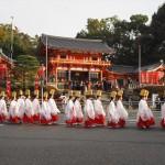 八坂神社 祇園えびす船巡行 1月
