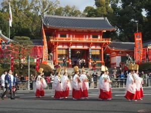 八坂神社 祇園えびす船巡行