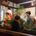 宮川町の舞妓さんによる福笹授与