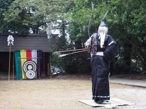 北白川天神宮 古式御弓神事