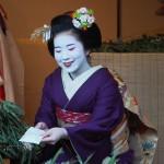 恵美須神社 舞妓さん