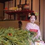 恵比寿神社 舞妓さんによる福笹授与 1月