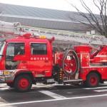 京都市消防出初式 車両行進