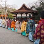 下鴨神社 成人祭 1月