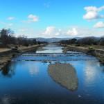 冬の賀茂川