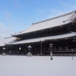 東本願寺 1月