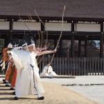 上賀茂神社 武射神事 1月