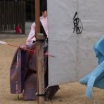 上賀茂神社 武射神事 「鬼」の的